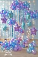Оформление шарами геливые шары