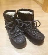 Продам зимние ботинки (луноходы). 38