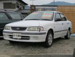 Nissan Sunny. автомат, передний, 1.5, бензин, 52 008тыс. км, б/п, нет птс. Под заказ
