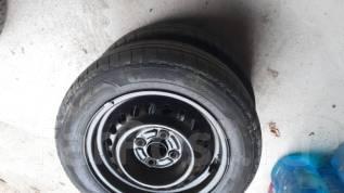 Продаю пару летних колес на штамповке. x14 4x100.00