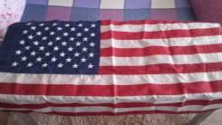 Флаг США американский 75 на 126 см. Нейлон