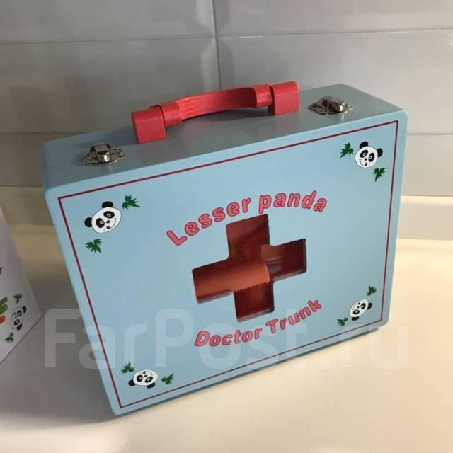 Деревянная игра набор доктор (игра больница)