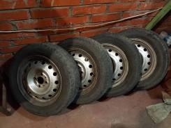 Продам колеса ваз R14, 4х98 с резиной 185/60 R14. x14