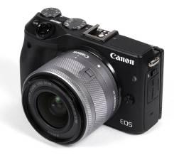 Canon EOS M3 Kit. 20 и более Мп, зум: 5х