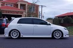 Обвес кузова аэродинамический. Toyota Allex Toyota Corolla Runx, NZE121, ZZE123, NZE124 Двигатели: 1NZFE, 2ZZGE