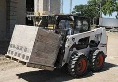 Bobcat S650. Мини погрузчик BobCat S650, 3 300 куб. см., 1 300 кг.