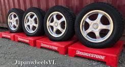 522 Японские - В идеале - Bridgestone Ragtime TS5 R16 + Зима ~8mm. 7.0x16 5x100.00, 5x114.30 ET35 ЦО 73,2мм.