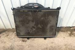 Радиатор охлаждения двигателя. Nissan Datsun, BMD21 Двигатель TD27