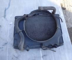 Радиатор охлаждения двигателя. Nissan Datsun Двигатель TD27