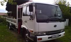 Nissan Diesel Condor. Продаётся (манипулятор), 7 000 куб. см., 5 000 кг.