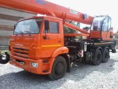 Клинцы КС-55713-1К-4. Продам новый автокран Клинцы КС 55713-1К-4 на шасси Камаз 65115, 6 700 куб. см., 25 000 кг., 31 м.