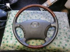 Руль. Toyota: Alphard, Camry, Aristo, Avensis Verso, Camry Gracia, Avalon, Mark II, Land Cruiser Prado, Avensis, Brevis, Hiace, Hilux Surf, Celsior, C...