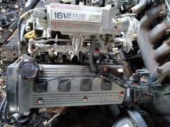 Двигатель в сборе. Toyota Corolla, EE101 Двигатель 4EFE
