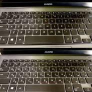 Лазерная гравировка букв на клавиатуре ноутбуков во Владивостоке