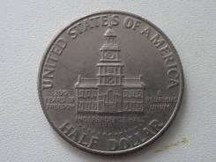 """Сша пол-доллара 1976 г. 200 лет Независимости """"Ратуша"""". Cu-Ni."""