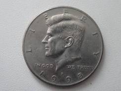 Сша пол-доллара 1998 г. Cu-Ni.