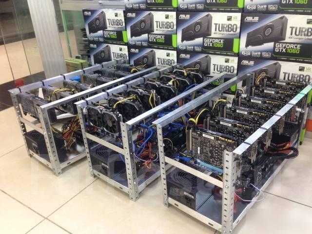 10 майнинг ферм. AMD RX 570 Etherium 1400мхс. .