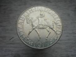 25 пенсов 1977 год Серебряный юбилей правления