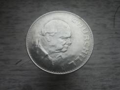 1 крона 1965 год Англия, Черчилль