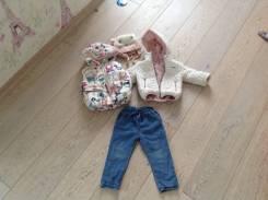 Куртки джинсовые. Рост: 60-68, 68-74, 74-80 см