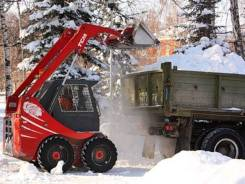 Уборка и вывоз снега! Фронтальные погрузчики! Экскаваторы!