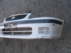 Бампер. Nissan Sunny, FB15 Двигатель QG15DE
