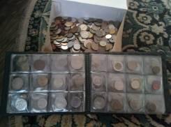 Коллекция монет, разные страны. 2,2 кг монет!