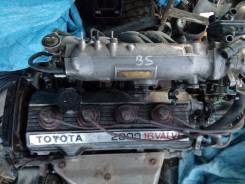 Двигатель в сборе. Toyota Vista, SV21 Двигатель 3SFE