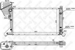 Радиатор системы охлаждения АКПП STELLOX 10-25880-SX