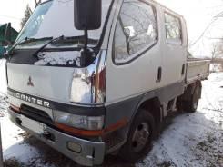 Mitsubishi Canter. Продам хороший двух кабинный грузовик, 2 800 куб. см., 1 500 кг.