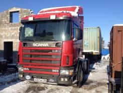 Scania. R124L, 12 000 куб. см., 44 000 кг.