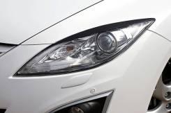 Накладка на фару. Mazda Mazda6, GH Двигатели: MZRCD, RF7J, MZR, L5VE, L813, R2BF, LF17, R2AA