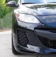 Накладка на фару. Mazda Mazda3, BL Двигатели: MZR, Z6, MZRCD, R2AA, LF17, MZRDISI, LF5H, BLA2Y, L5VE, Y655, Y650