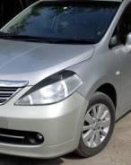 Накладка на фару. Nissan Tiida