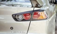 Накладка на стоп-сигнал. Mitsubishi Lancer, CY Двигатели: 4B11, 4A91, 4B10
