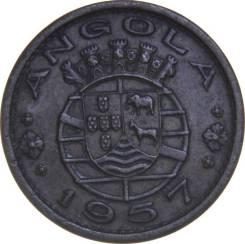Ангола 50 сентавос 1957 год (иностранные монеты)