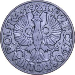 Польша 50 грош 1923 (иностранные монеты). Под заказ