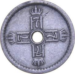 Норвегия 25 ОРЕ (ЭРЕ) 1927 (иностранные монеты)