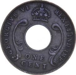 Восточная Африка 1 цент 1942 (иностранные монеты)