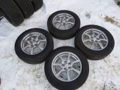 Комплект зимних колес только Toyota Prius Allion Caldina Carina. 6.0x15 5x100.00 ET45 ЦО 54,1мм.