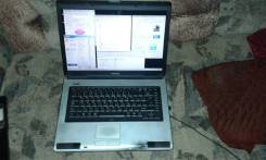 "Toshiba Satellite L40. 15.6"", 1,6 ГГц, ОЗУ 1536 Мб, диск 160 Гб, WiFi, Bluetooth, аккумулятор на 1 ч."