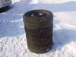 Комплект зимних шин 185/65 R-14 c дисками 4х100. 5.5x14 4x100.00 ET45 ЦО 55,0мм.
