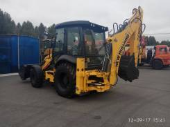 New Holland. Экскаватор-погрузчик NEW Holland B80B, 3 900 куб. см., 0,22 куб. м.