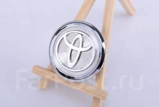 """Колпачок на литье хром Toyota, С-901 (внешний59mm / внутренний53mm). Диаметр 4"""""""", 1шт"""
