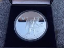 10 евро Олимпиада 2004 г! Греция! Серебро! Пруф