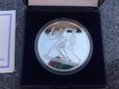 10 евро Олимпиада 2004 г Греция! Серебро! Пруф