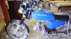 Alpha 110. 110 куб. см., исправен, без птс, без пробега