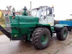 ХТЗ Т-150. Трактор Т-150 с ножём, 10 000 куб. см.