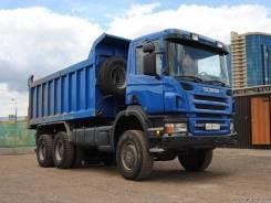 Scania P380LB. Скания Р 380 самосвал 6х6 полный привод, 12 000 куб. см., 30 000 кг.