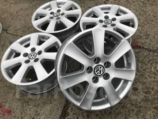 Volkswagen. 6.5x15, 5x100.00, ET35